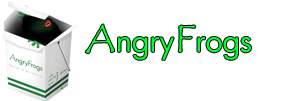 AngryFrogs Design and Marketing logo in Milton Keynes